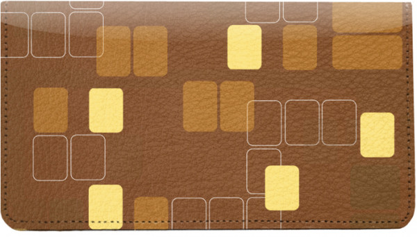 Retro Squares Leather Cover | CDP-GEP52