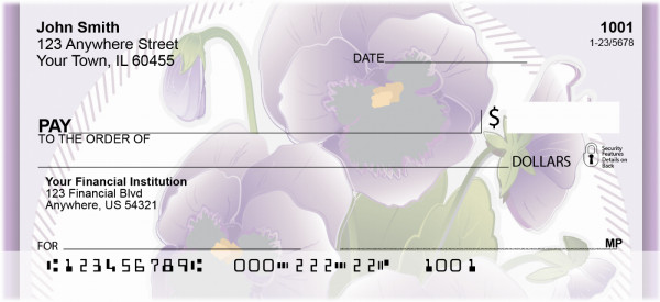 Circles Of Splendor Personal Checks | FLO-35