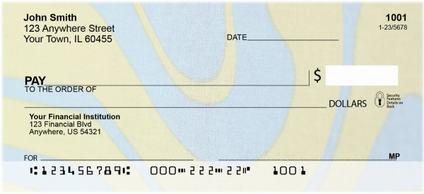 Melting Rivers Personal Checks | GEO-75
