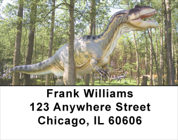 Dino Walk In The Park Address Labels | LBANJ-98