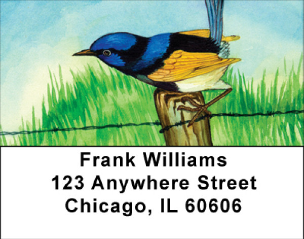 Artistic Wildlife Address Labels | LBBBB-43