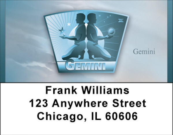Gemini Address Labels | LBBBC-40
