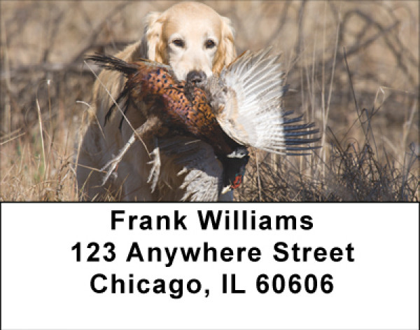 Pheasant Hunting Address Labels | LBBBH-11