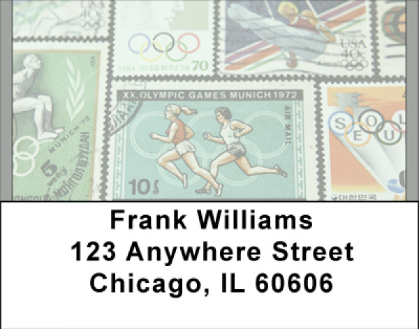 Olympic Challenge Address Labels | LBBBH-22