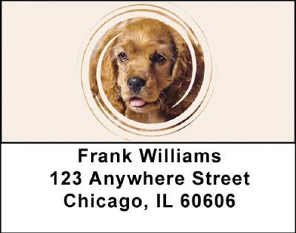 Cocker Spaniels Address Labels | LBDOG-13