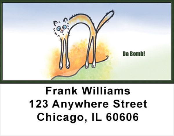 Totally Sick! Address Labels | LBFUN-54