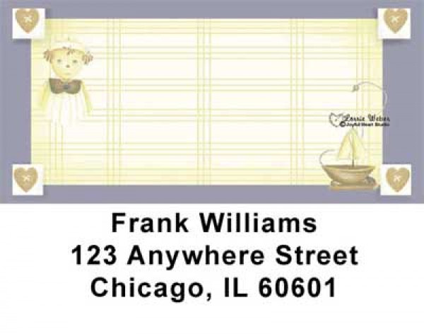 Raggedy Friends Address Labels by Lorrie Weber | LBJHS-06