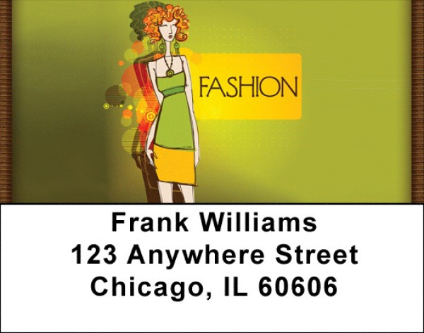 High Fashion Address Labels | LBQBD-70