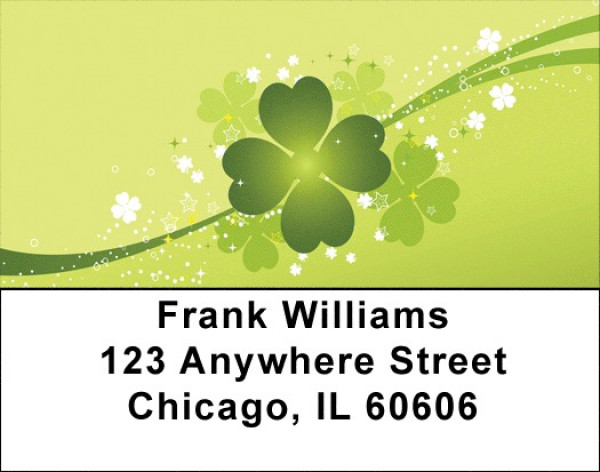 Irish Luck And Fun Address Labels | LBQBF-21