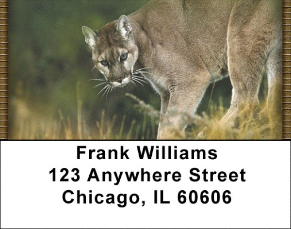 Cougars Address Labels | LBZANI-31