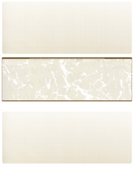 Tan Marble Blank Middle Laser Checks | LMC-BLA-OM