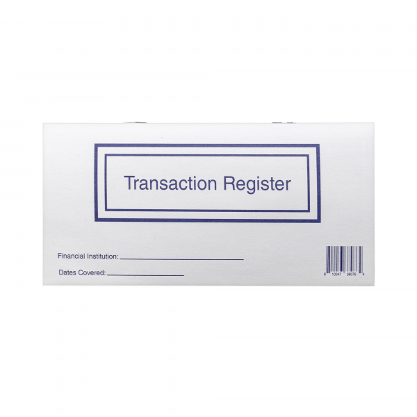 Personal Check Register | PCR-02