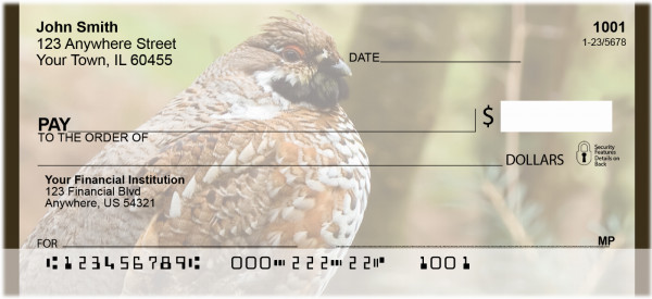 Quail Time Personal Checks | QBA-57