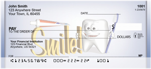 Smile Personal Checks | QBD-63