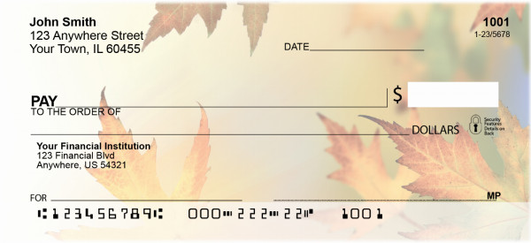 Blowing In The Wind Personal Checks | QBG-49