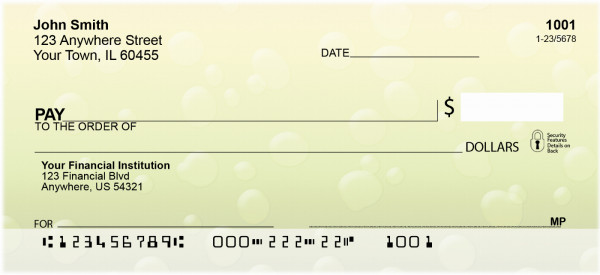Droplets Personal Checks | QBM-82