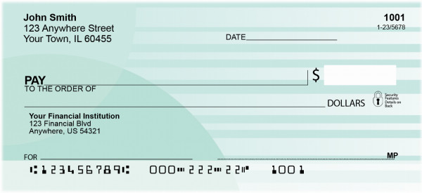 Fashion Sassy Personal Checks | QBO-12