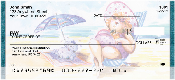 Beach Divas Personal Checks | QBO-66