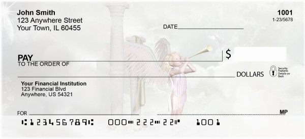 Heavenly Messengers Personal Checks | QBO-74