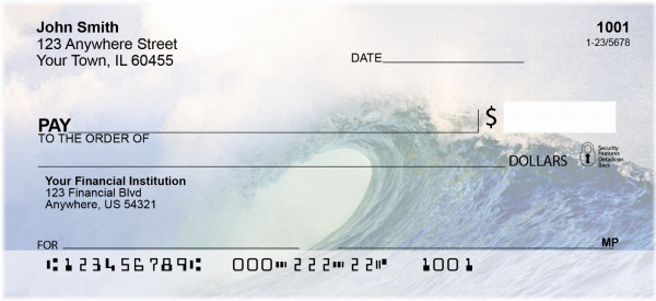 Giant Surf Is Up Personal Checks | QBP-04