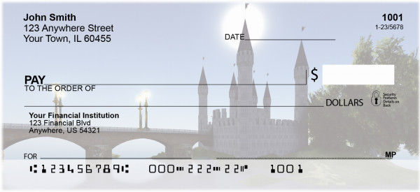 Magical Castles Personal Checks | QBP-12