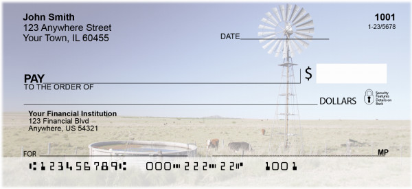 Windmills On The Plains Personal Checks | QBP-24