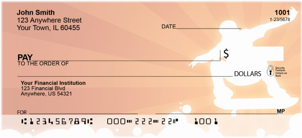 Hot Skateboarding Personal Checks | SPO-77
