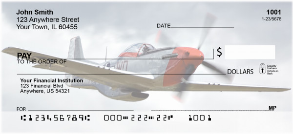 Vintage Warbirds Personal Checks | TRA-26