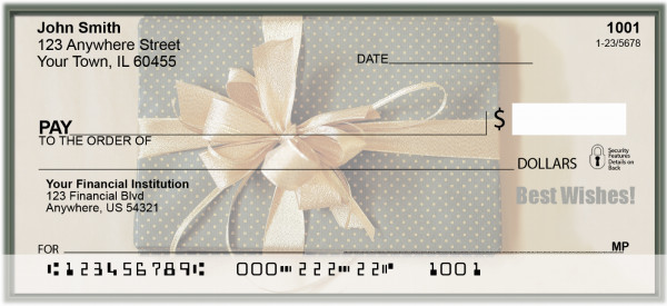 Best Wishes Personal Checks | XMS-36