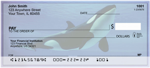 Whales Personal Checks | ZANJ-87