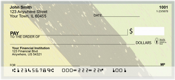 Weather Colors Personal Checks | ZGEO-77