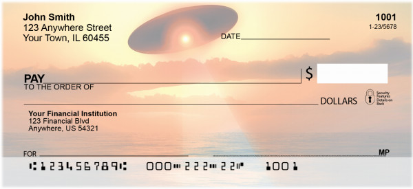 Alien Abduction Personal Checks | ZSPA-05