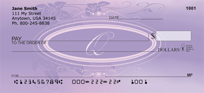 Reflections In Lavender Monogram Q Checks - 1