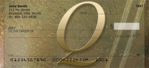 Stoned Gold Monogram Q Checks