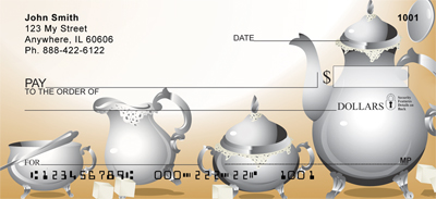 Vintage Tea Time Checks - 1