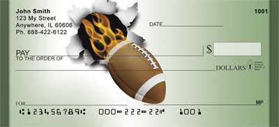Smokin' Hot Football Checks - 1