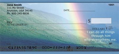 Rainbows Across America Personal Checks - 1