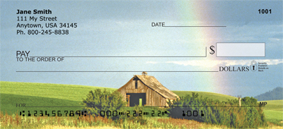 Rainbows On The Plains Personal Checks - 2