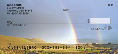 Rainbows On The Plains Personal Checks - 3