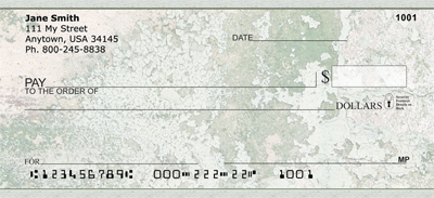 Shabby Chic Personal Checks - 3