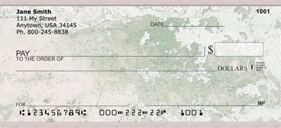 Shabby Chic Personal Checks - 4