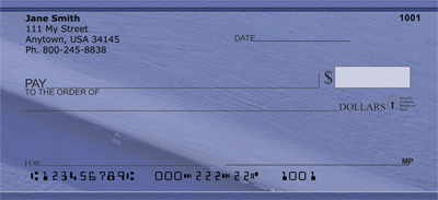 Paint it Blue Personal Checks - 3