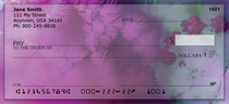 Plum Fun Personal Checks