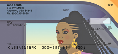 Black Is Beautiful Personal Checks - 3