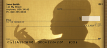 Female Silhouettes Personal Checks