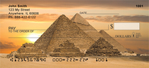 Egyptian Monuments Personal Checks