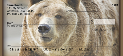 Grizzly Bears Personal Checks - 2