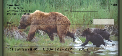 Grizzly Bears Personal Checks - 3