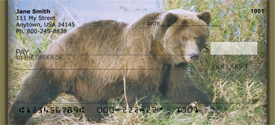 Grizzly Bears Personal Checks - 4