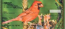 Baby Birds Personal Checks
